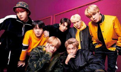 BTS foi o mais escutado no Spotify em 2020