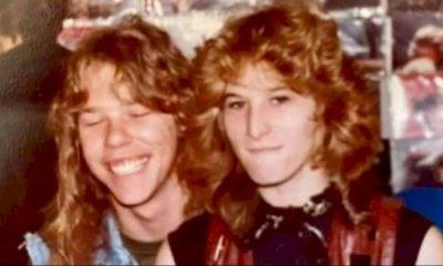 James Hetfield homenageia fundadora da Megaforce Records