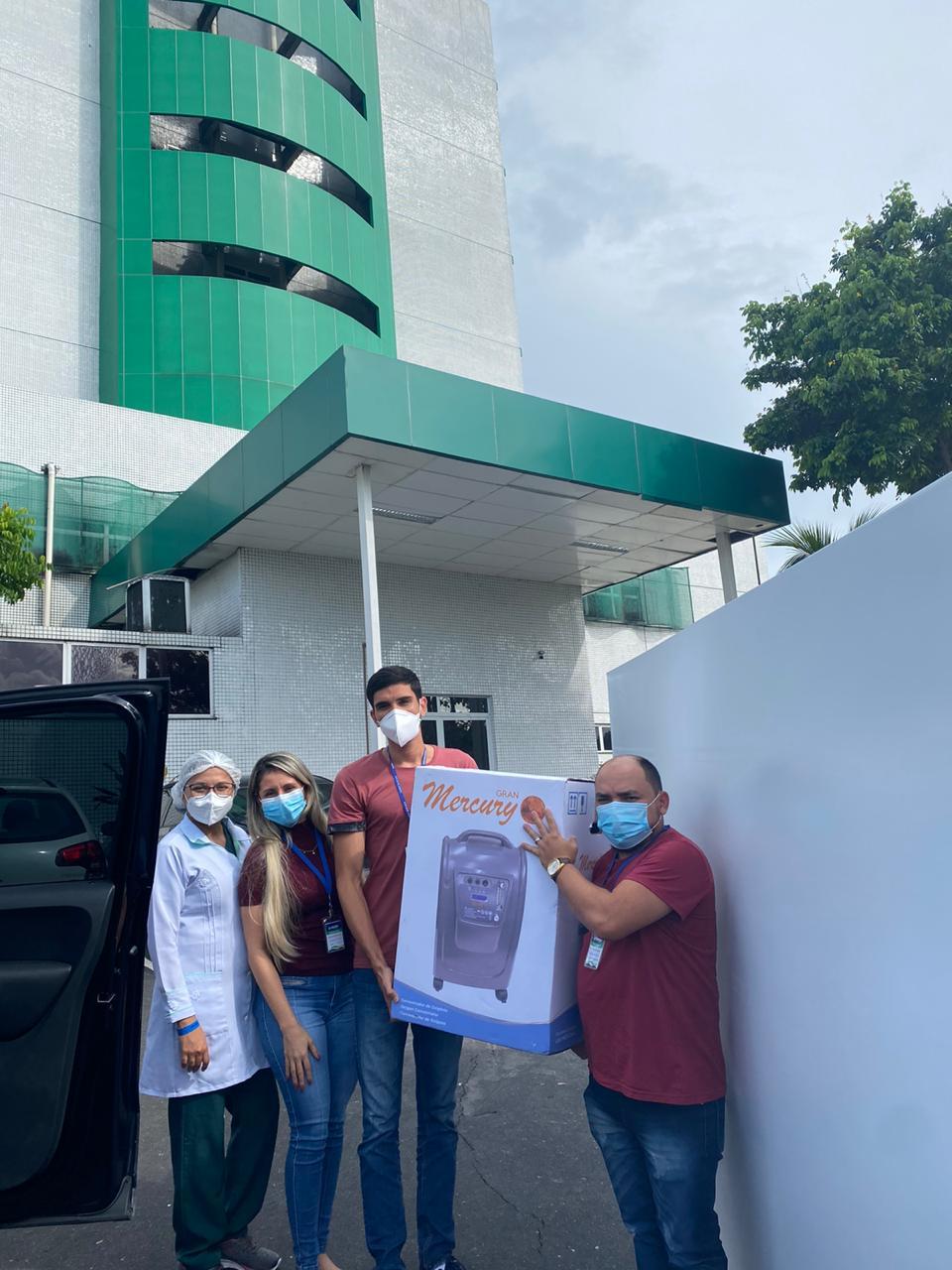 Luan Santana realiza nova doação para Manaus