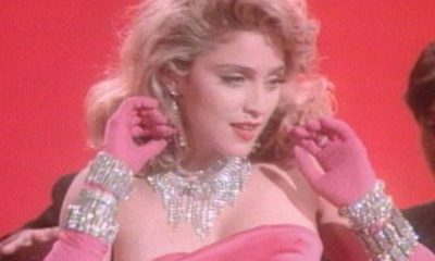 """Madonna disponibiliza o clipe clássico de """"Material Girl"""", produzido em 1985"""
