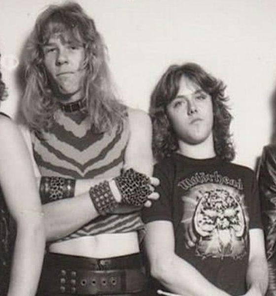 Veja o primeiro cartão de visitas do Metallica
