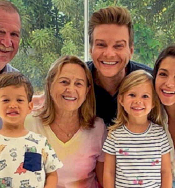 Michel Teló faz 40 anos e ganha festa surpresa da família