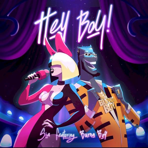 """Sia conta com a colaboração de Burna Boy na inédita """"Hey Boy"""""""