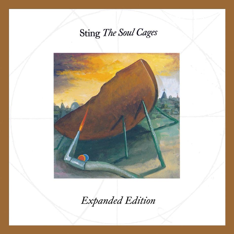 """Sting: álbum """"The Soul Cages"""" ganha versão expandida e remasterizada"""
