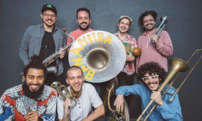 """Carnaval: Bananeira Brass Band é fanfarra dançante no single """"Furiosa"""""""