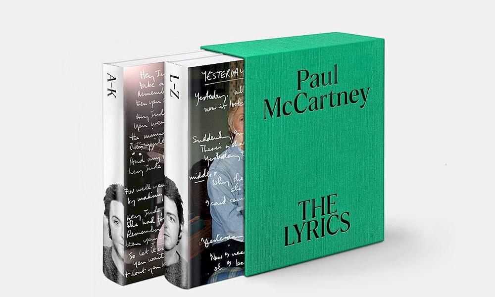 "Paul McCartney anuncia o novo livro ""The Lyrics"""