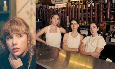 A cantora Taylor Swift se uniu ao trio de irmãs HAIM para lançar o remix de Gasoline, faixa do álbum Women in Music Pt. III. A faixa já está disponível
