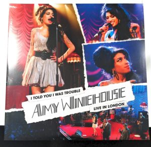 "Amy Winehouse: álbum ao vivo ""I Told You I Was Trouble: Live in London"" chega às plataformas digitais"