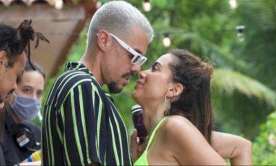 Anitta foi conquistada por Lipe Ribeiro com letra de pagode