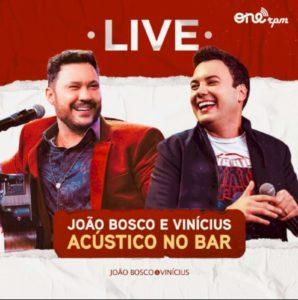 """João Bosco & Vinícius lançam álbum live """"Acústico no Bar"""""""