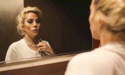 """Lady Gaga divulga foto com Adam Driver durante as gravações de """"House of Gucci"""""""
