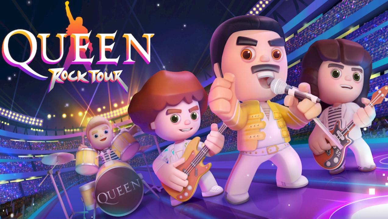 "Universal Music lança o jogo ""Queen Rock Tour"""