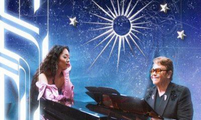 """Rina Sawayama comemora música com Elton John: """"Insano"""""""
