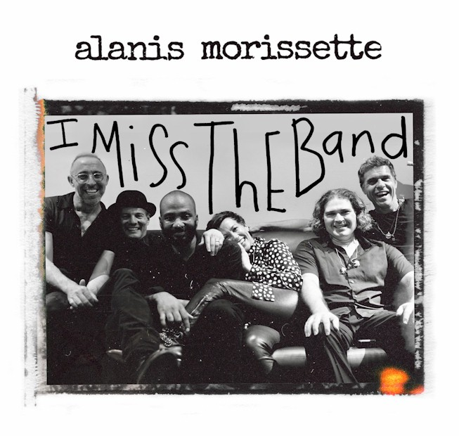 """Alanis Morissette expõe sua saudade em """"I Miss The Band"""""""