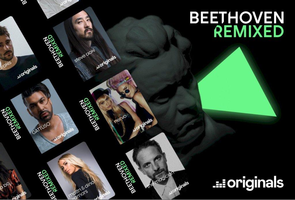 Steve Aoki, NERVO e The Magician revisitam Beethoven em álbum da Deezer
