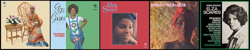 Elza Soares: cinco álbuns dos anos 1970 entram para o streaming