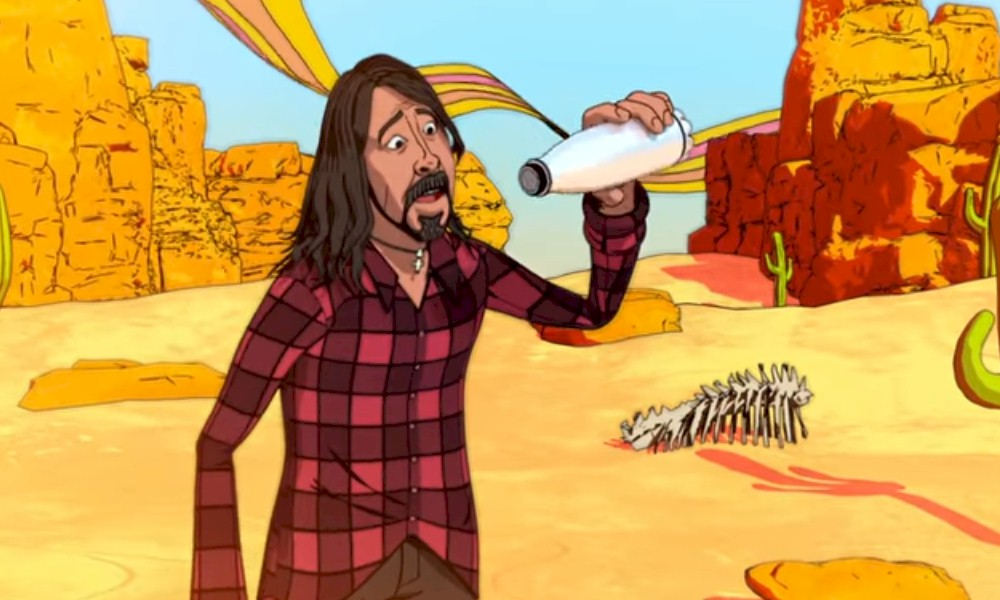 "Foo Fighters mergulha no psicodelismo no clipe ""Chasing Birds"""