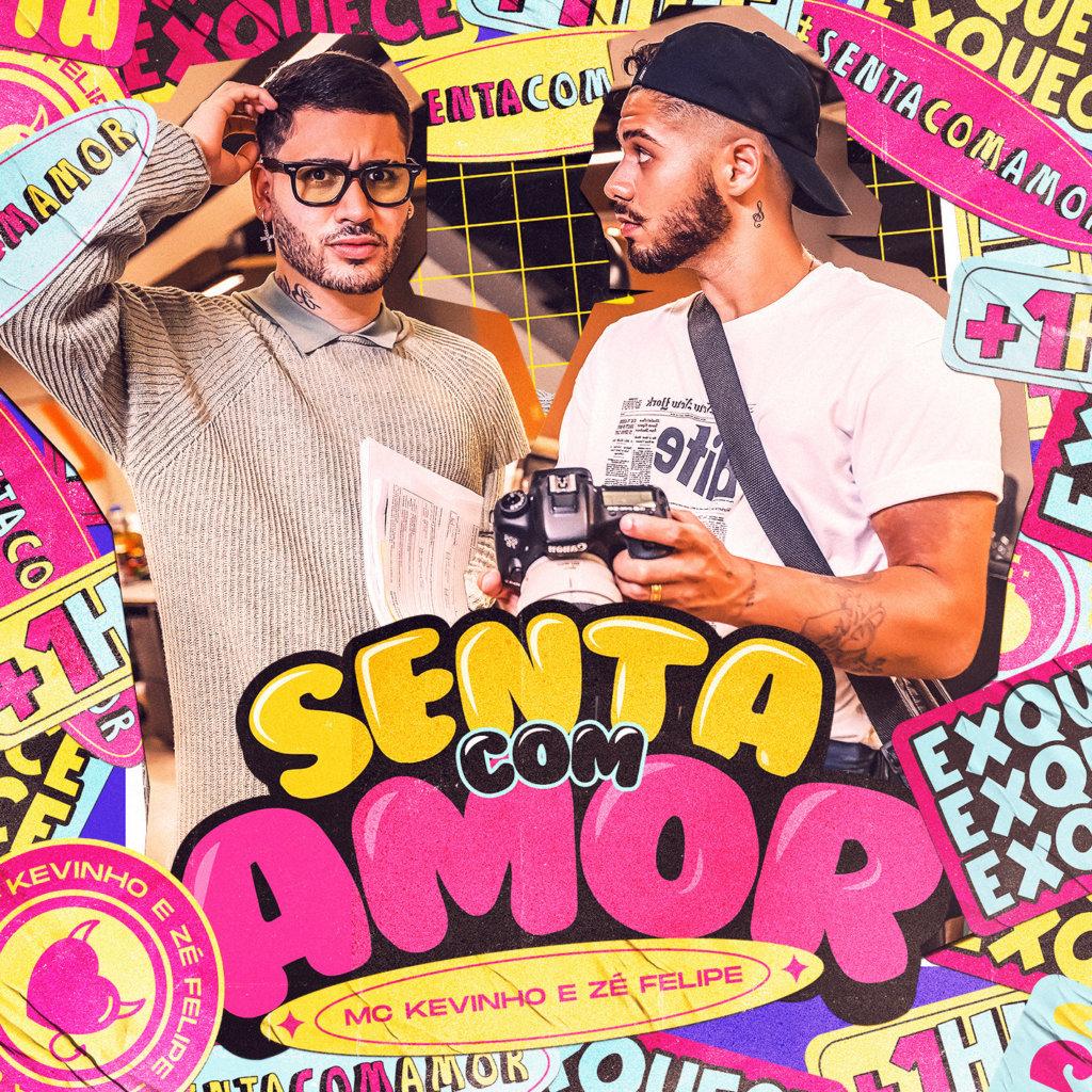 """Kevinho se une a Zé Felipe na inédita """"Senta com Amor"""""""