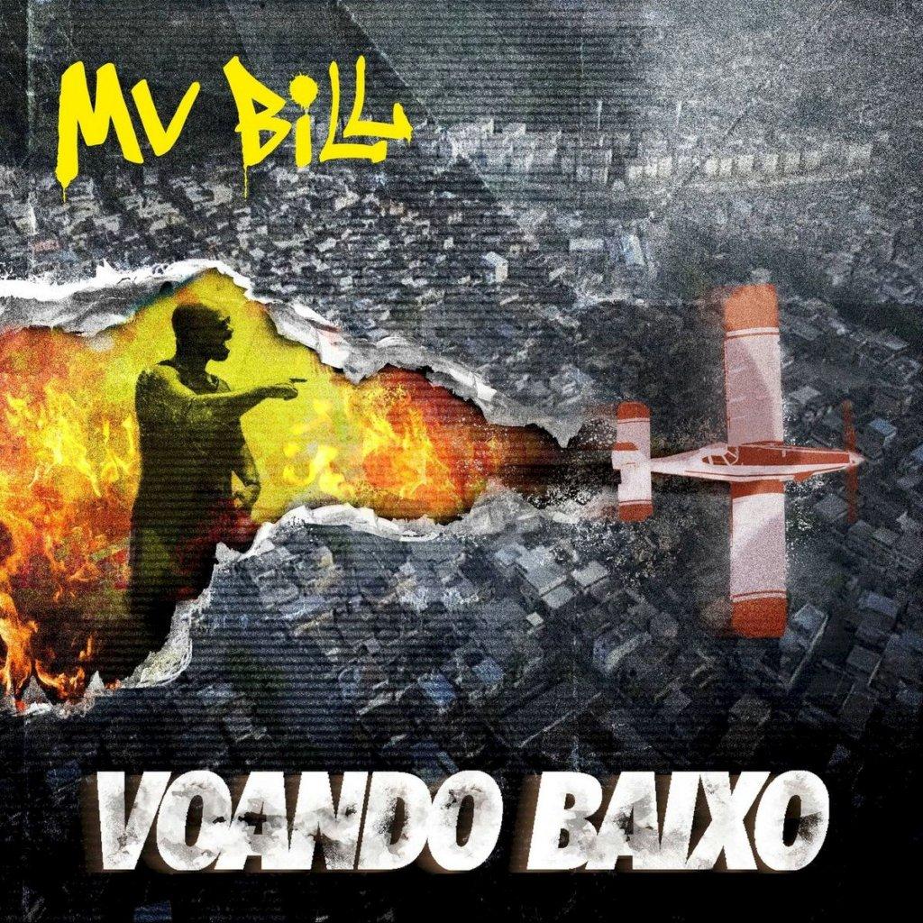 """MV Bill revela capa de seu novo álbum """"Voando Baixo"""""""