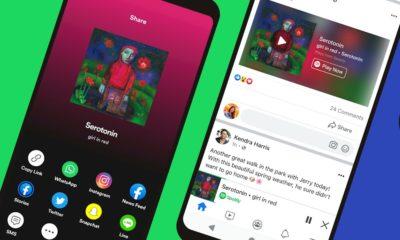 Spotify lança miniplayer para músicas e podcasts no Facebook