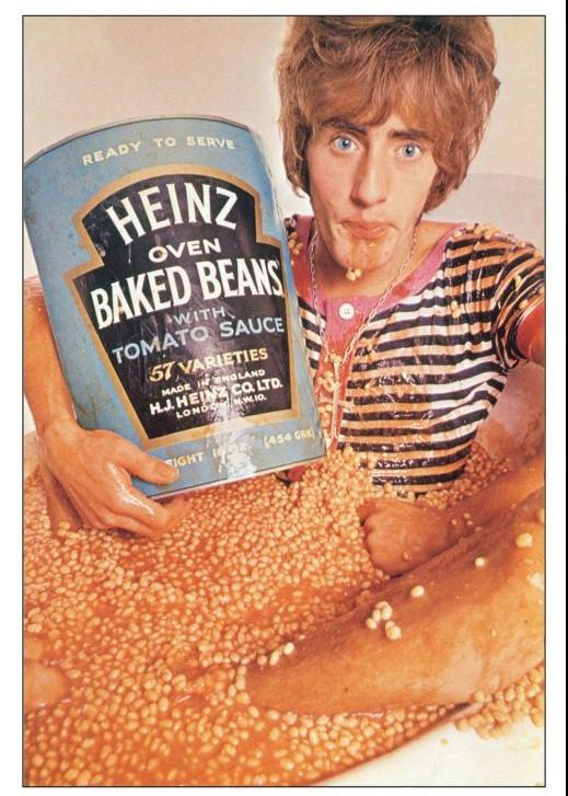The Who assina com a Heinz e revisita capa de 1967