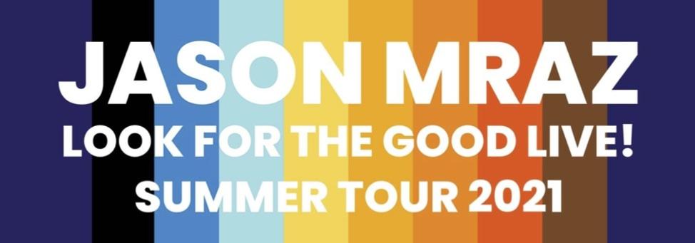 """Jason Mraz anuncia turnê """"Look For The Good Live!"""""""