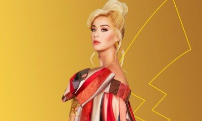 "Katy Perry anuncia ""Electric"" celebrando 25 anos do Pokemón"