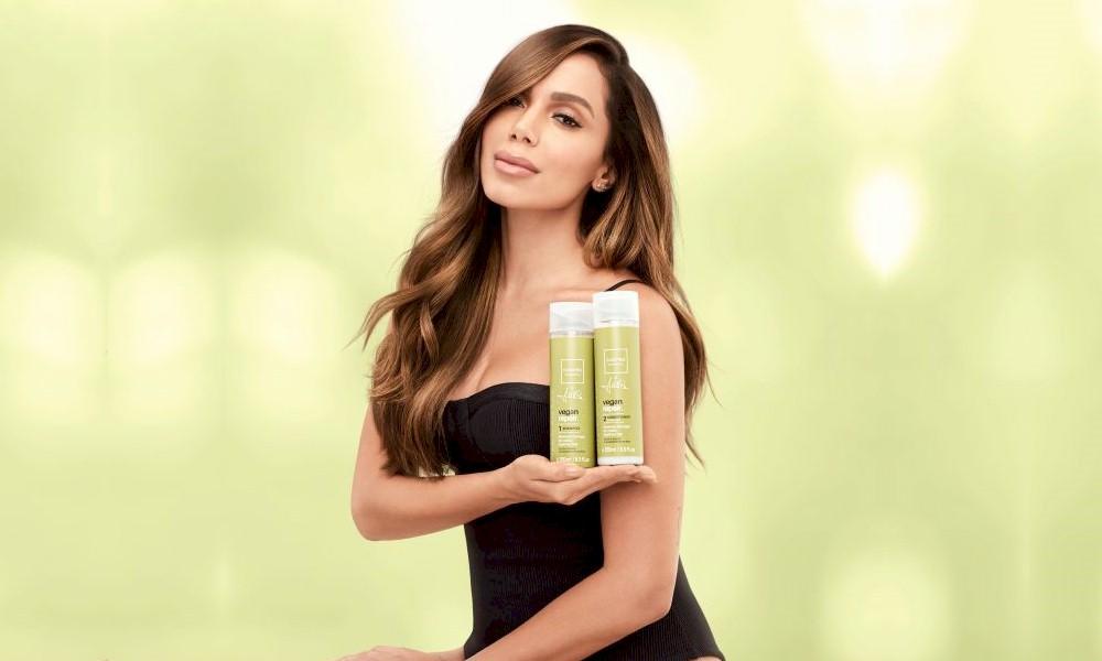 Anitta firma parceria com marca de produtos veganos