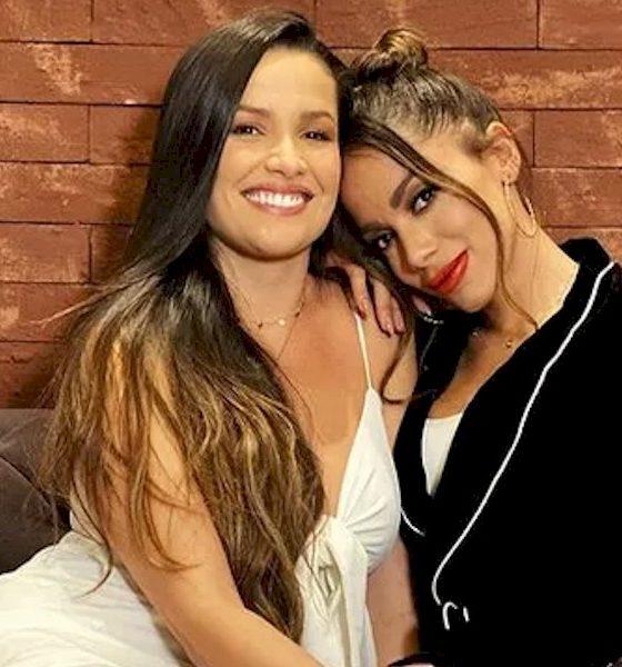 """Anitta se encanta por Juliette e diz que ela """"já virou da família"""""""