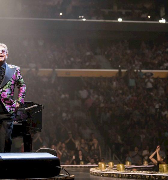 Elton John e Charlize Theron querem abordar a luta contra a AIDS no G7