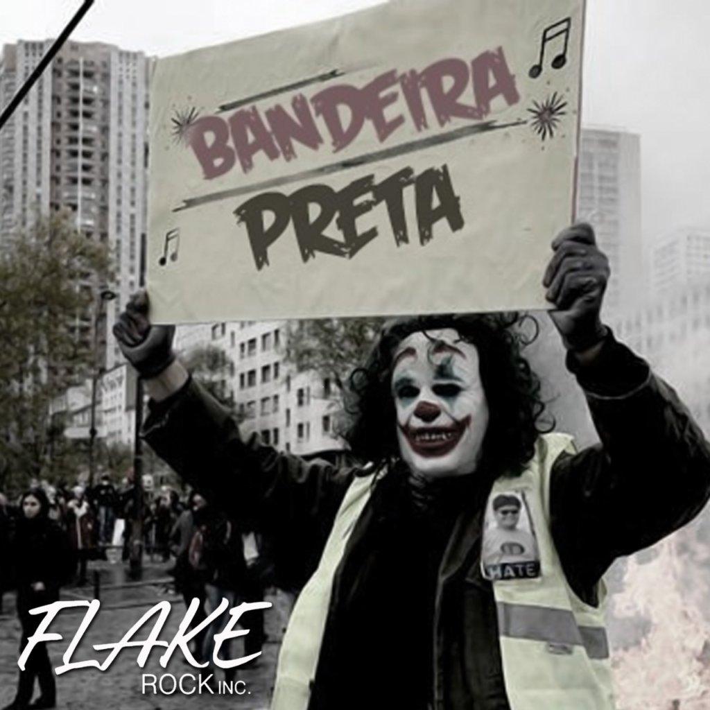 """Flake Rock Inc cria reflexão sobre a polarização política em """"Bandeira Preta"""""""