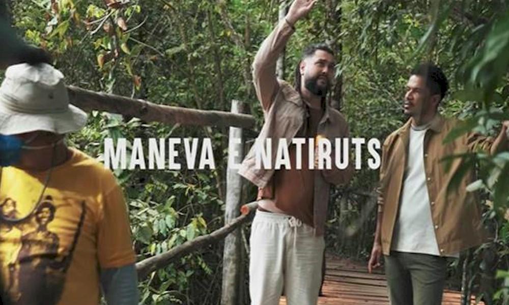 """Maneva e Natiruts disponibilizam os bastidores do clipe de """"Lágrimas de Alegria"""""""