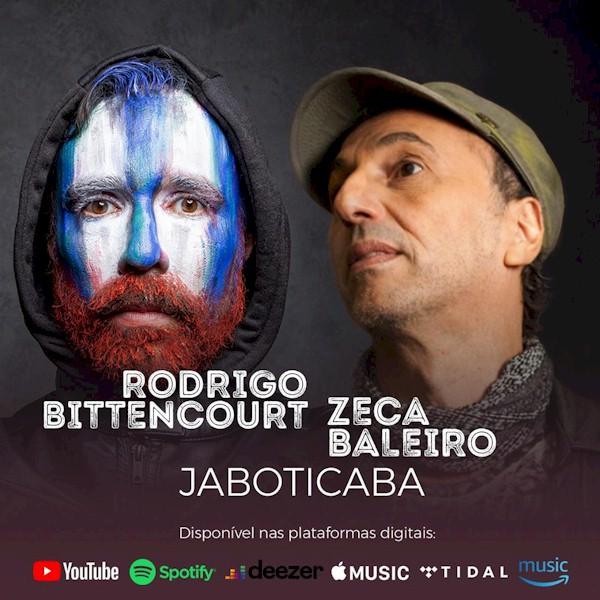 """Rodrigo Bittencourt e Zeca Baleiro celebram o dueto de """"Jaboticaba"""""""