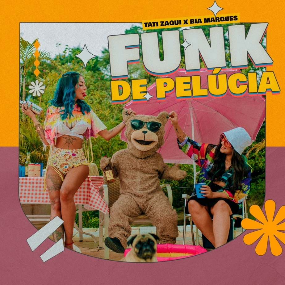 "Tati Zaqui lança ""Funk de Pelúcia"". Assista ao teaser"