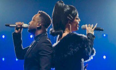 Thiaguinho anuncia dueto com Gloria Groove