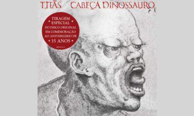 """Titãs: clássico """"Cabeça Dinossauro"""" ganha reedição especial em CD"""