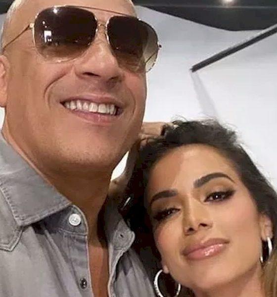 Vin Diesel revela admiração por Anitta e não descarta colaboração