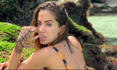 Anitta beija cantor Lunay e fãs especulam que ela se separou de bilionário