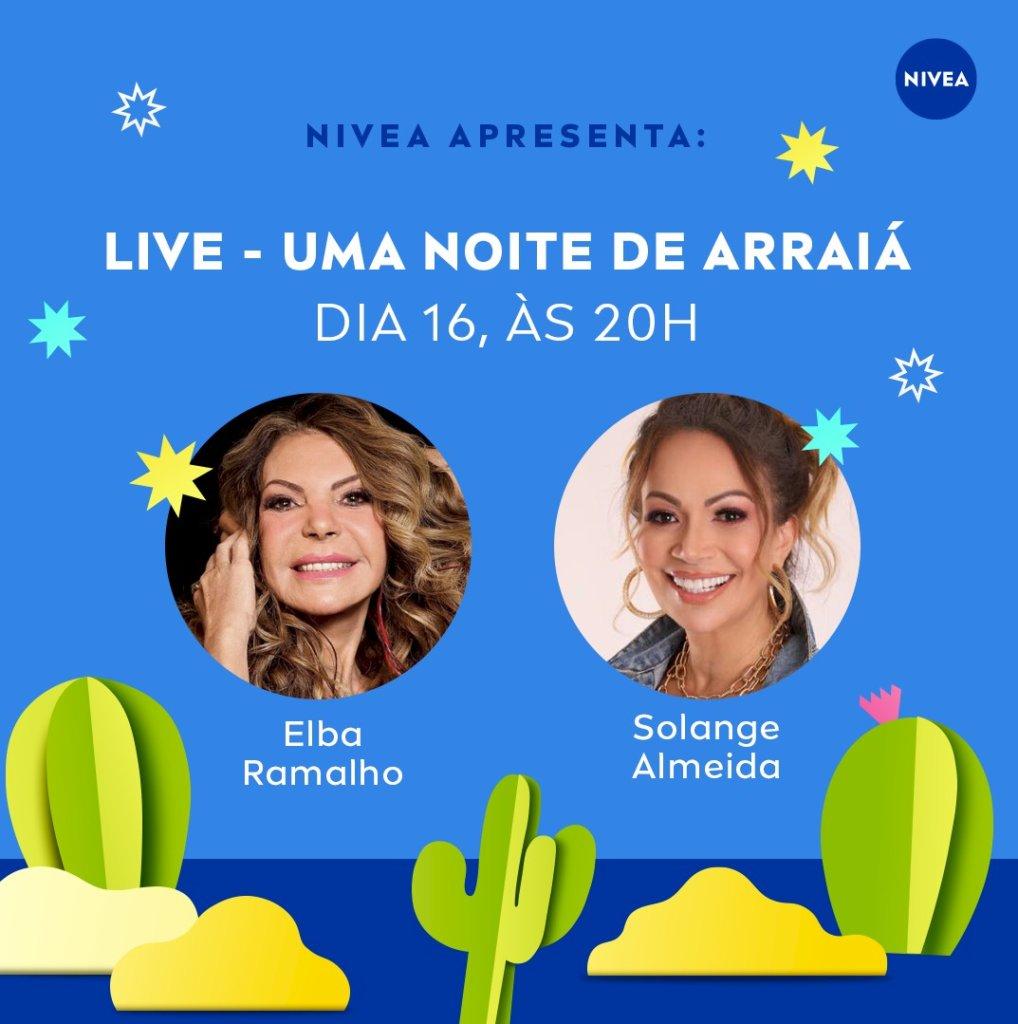 Arraial virtual com Elba Ramalho, Solange Almeida e Padre Fábio de Melo acontece nesta sexta