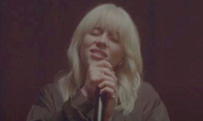 "Billie Eilish disponibiliza vídeo com performance intimista para ""NDA"""