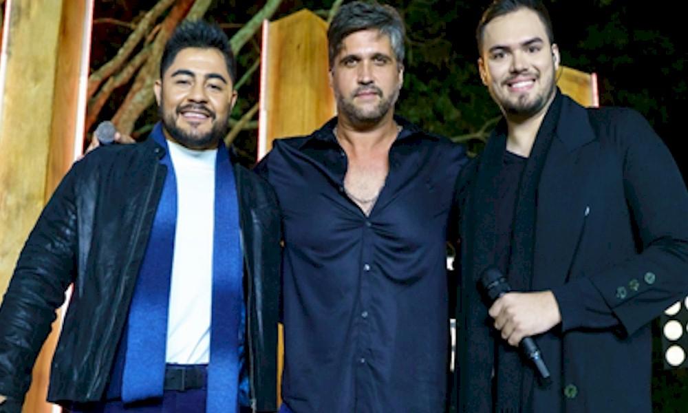 "Dupla Emerson & Jean se une a Léo Chaves na inédita ""Bora Voltar"""