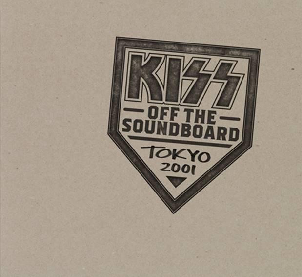 """Chega ao Brasil, a versão física de """"Off The Soundboard"""" do KISS"""