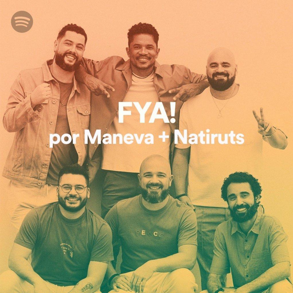 Maneva e Natiruts ganham playlist especial para celebrar o reggae no Spotify
