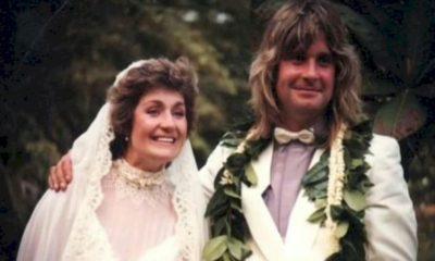 Sharon e Ozzy Osbourne celebram 39 anos de casamento no Instagram