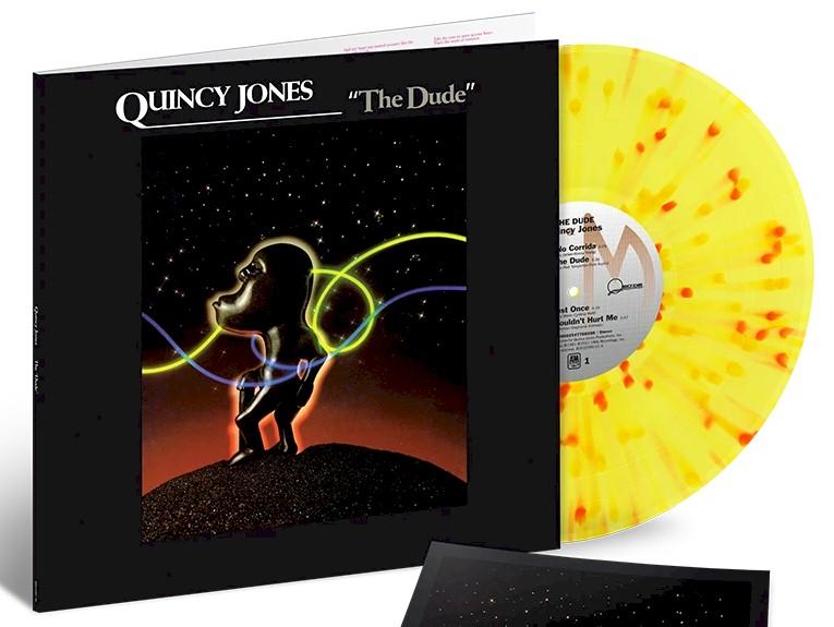 """Quincy Jones: álbum de estreia """"The Dude"""" será relançado em vinil colorido"""