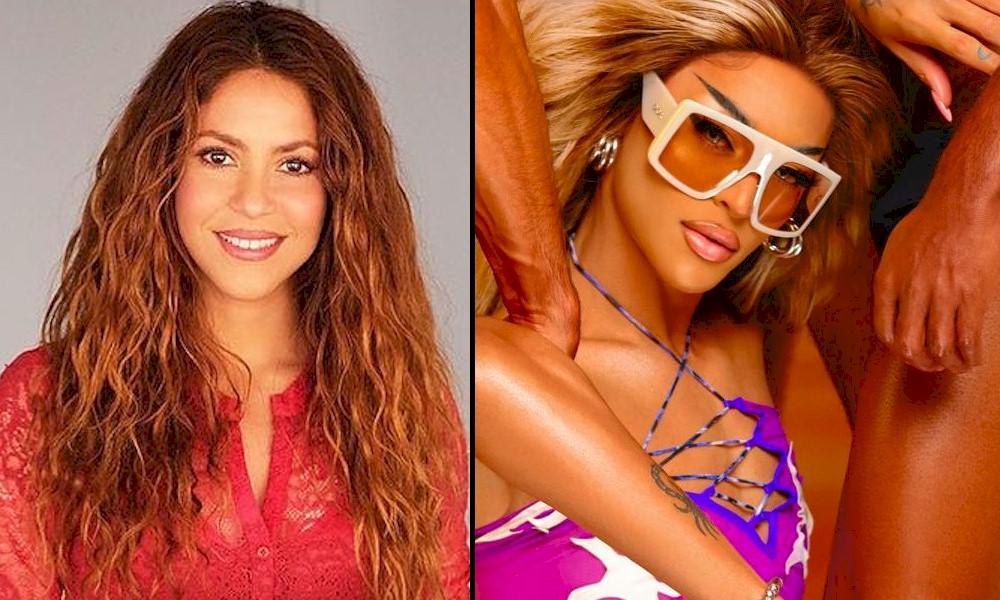 Shakira é a nova seguidora de Pabllo Vittar no Spotify