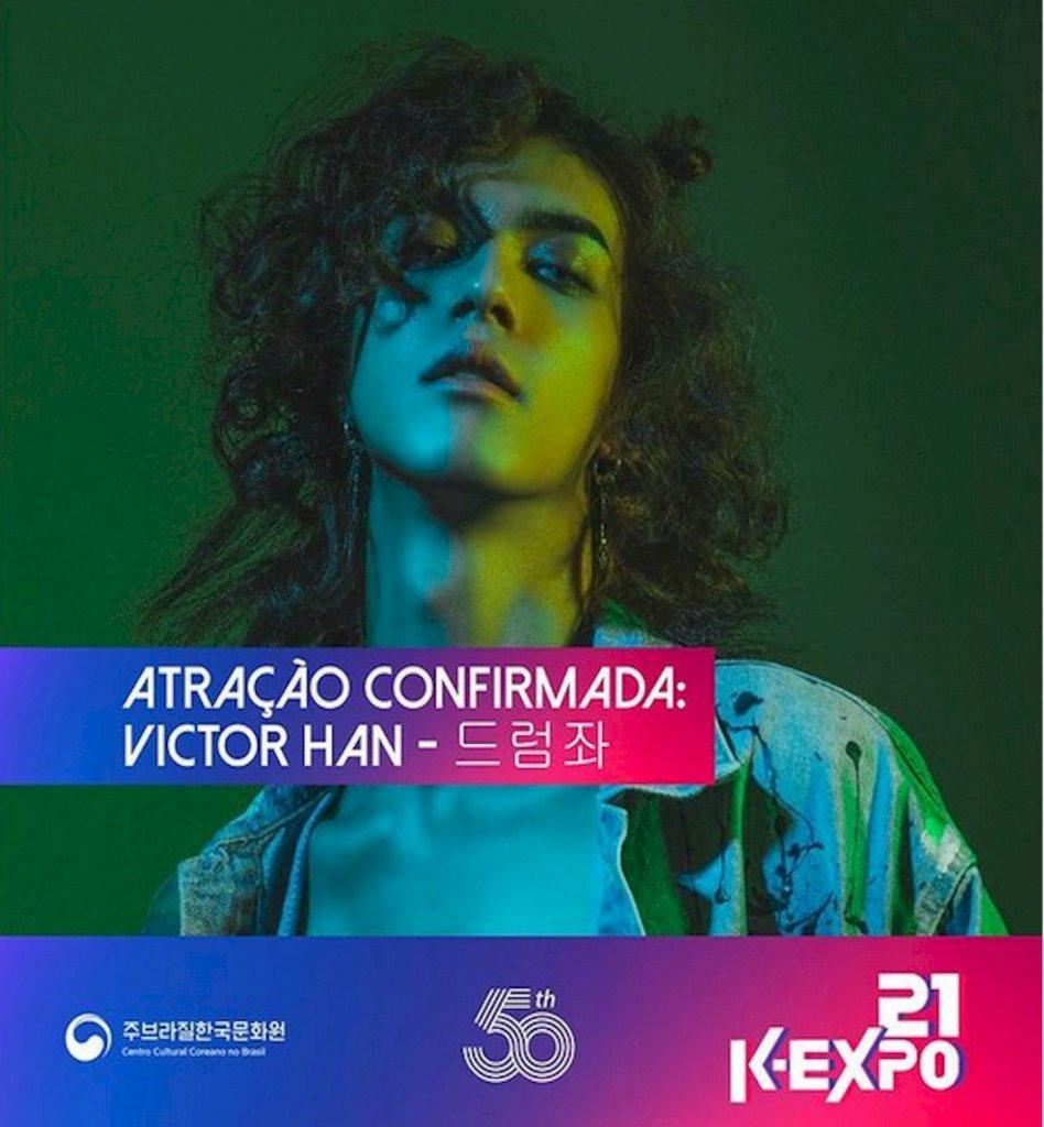 Victor Han, primeiro K-idol brasileiro, é confirmado no K-Expo