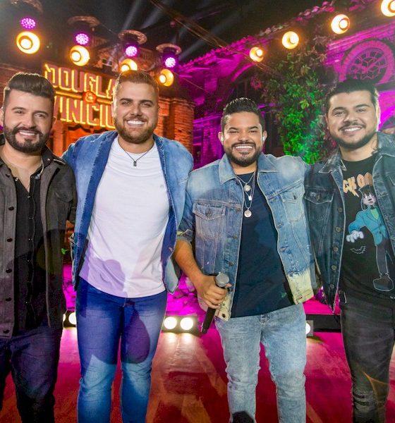 Maiara e Maraísa, Zé Neto e Cristiano e Tierry participam do novo DVD de Douglas e Vinícius