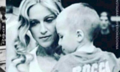 Madonna celebra aniversário do filho Rocco no Instagram com fotos raras