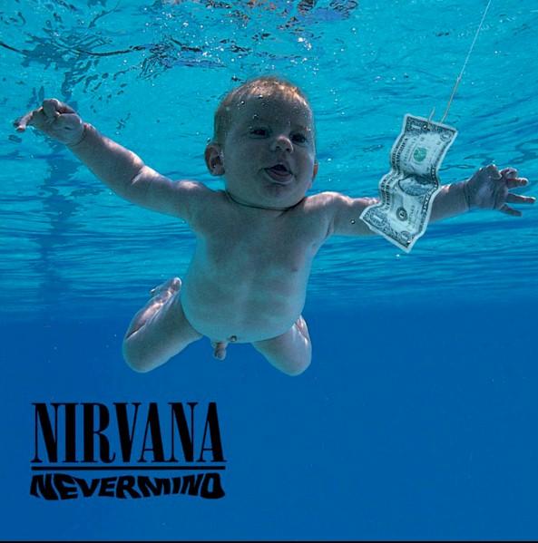 """Nirvana sofre processo criminal por capa de """"Nevermind"""""""